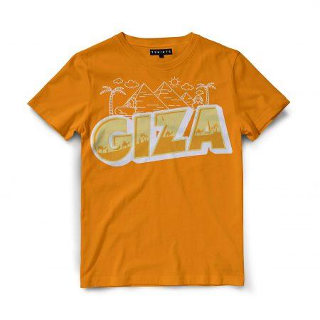 Custom T Shirts - Giza - Printed For Sale