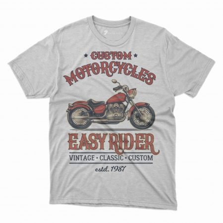 Custom T Shirts Printed - Motorcycle - For Sale
