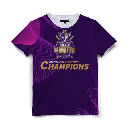 Custom T Shirts Printed - Quetta Gladiators - For Sale