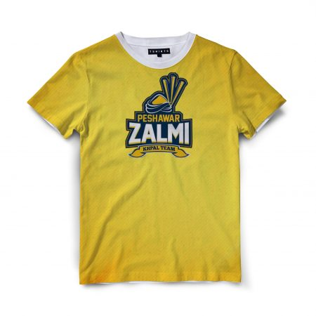 Custom T Shirts Printed - Peshawar Zalmi - For Sale