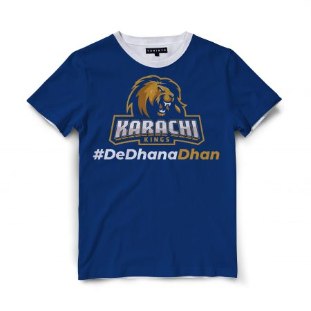Custom T Shirts Printed - Karachi kings - For Sale