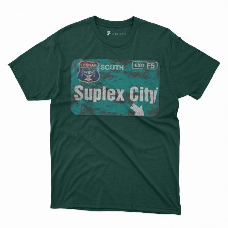 Custom T Shirts Printed - Suplex City - For Sale