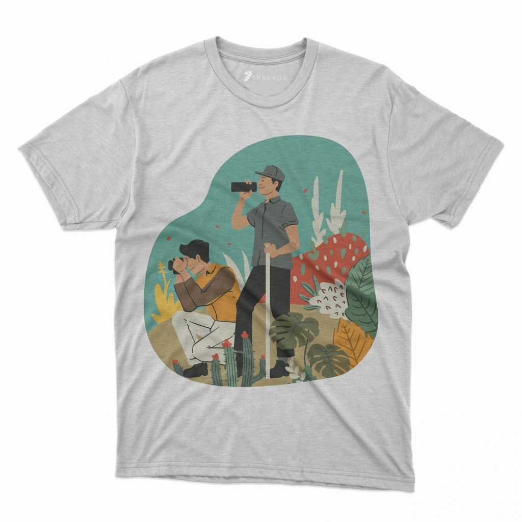 Custom T Shirts Printed - Adventure - For Sale