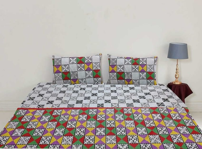 King Size Bed Sheets Cotton Print