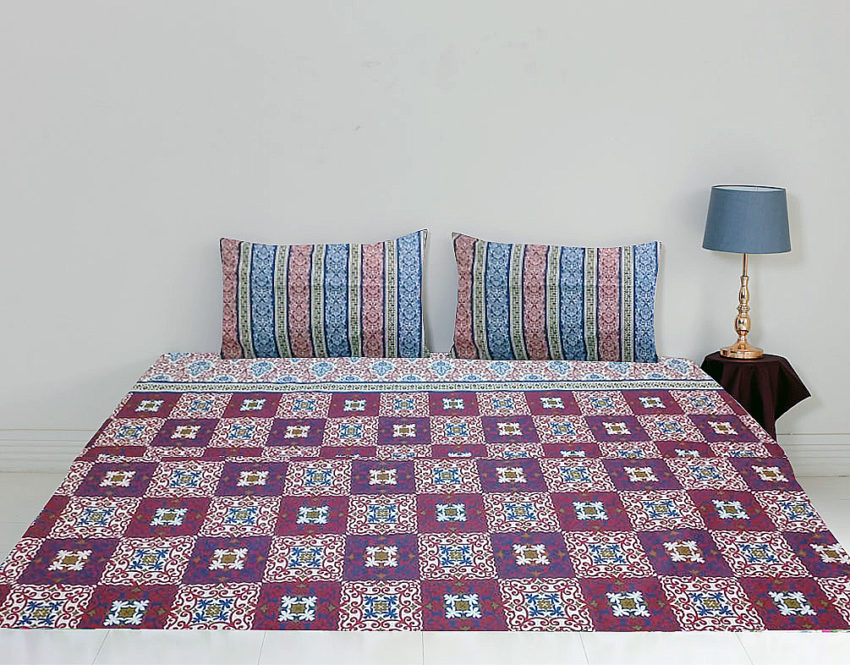 Bed Sheets Online Cotton Printed For Sale