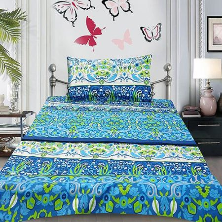 Organic Cotton Sheets With 2 Pillows For Sale