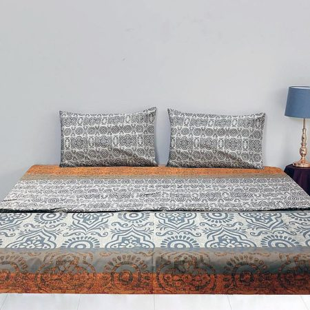 King Fitted Sheet Cotton Printed For Sale