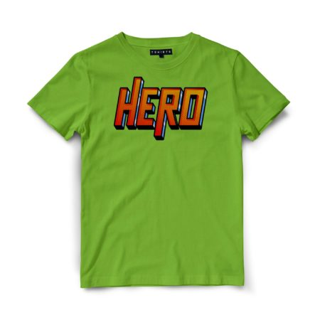 Custom T Shirts - Hero - Printed For Sale