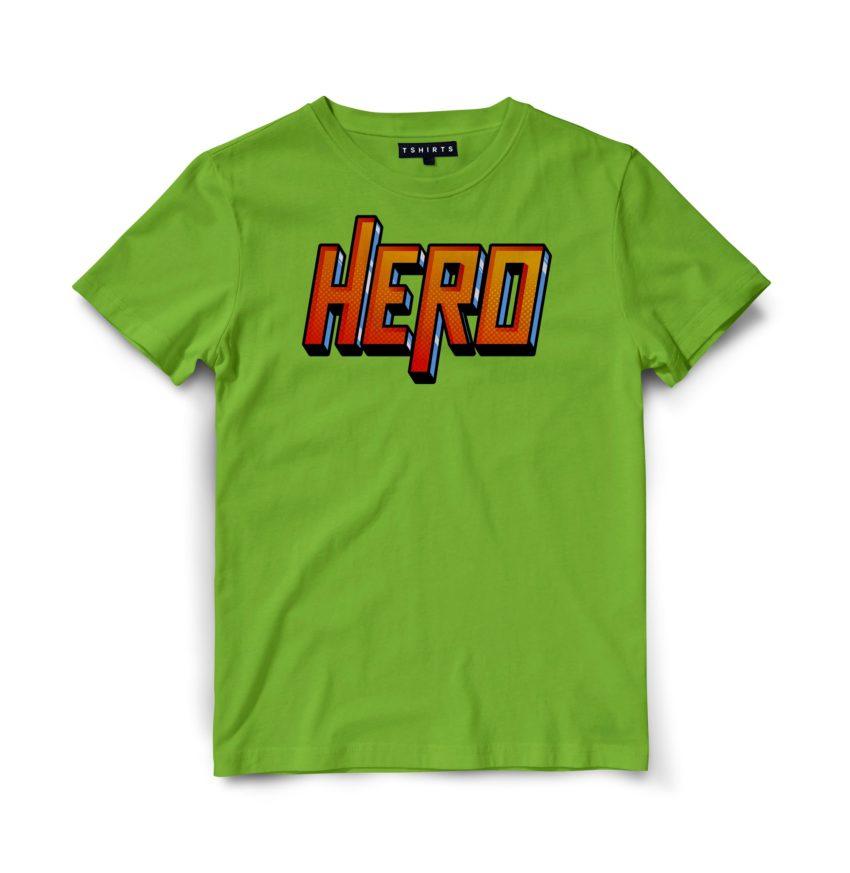 Custom T Shirts - Hero - Printed For Sale