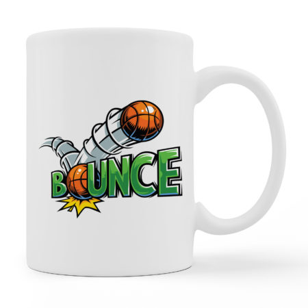 Coffee Mugs - Bounce - White Color For Sale