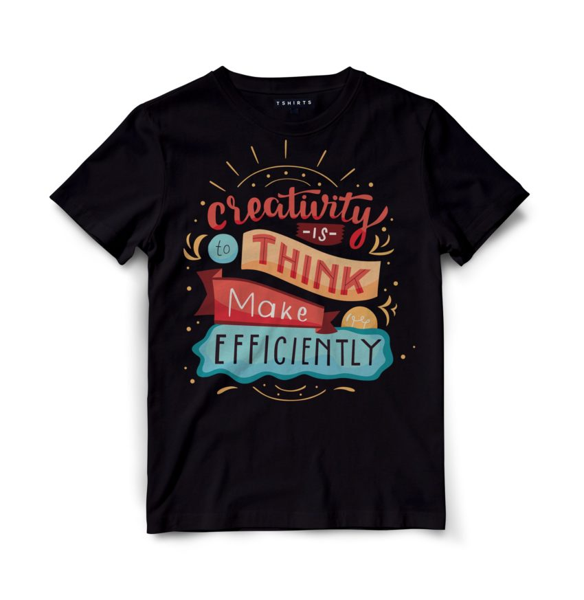 Custom T Shirts - Creativity - Printed For Sale