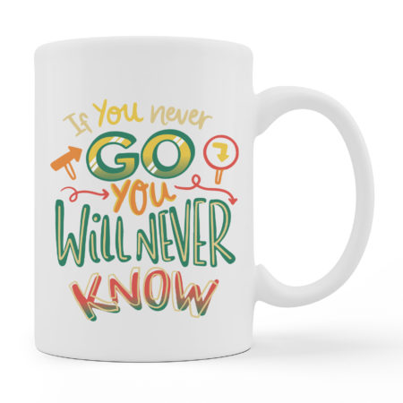 Coffee Mugs - Go - White Color For Sale