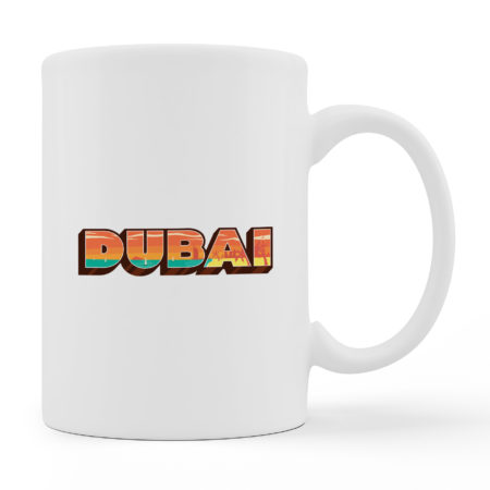 Coffee Mugs - DUBAI - White Color For Sale