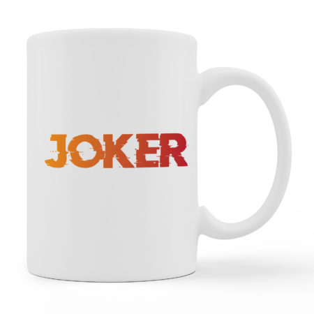 Coffee Mugs - JOKER - White Color For Sale