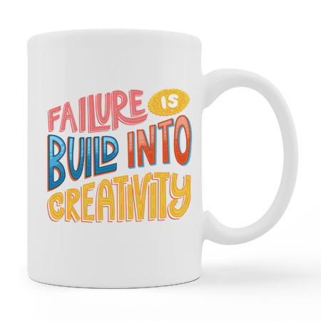 Coffee Mugs - Failure - White Color For Sale