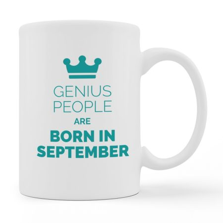 Coffee Mugs - Best People Were Born - White Color For Sale