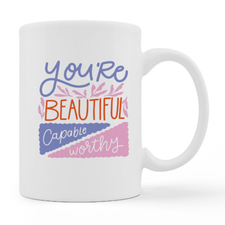 Coffee Mugs - Beautiful - White Color For Sale
