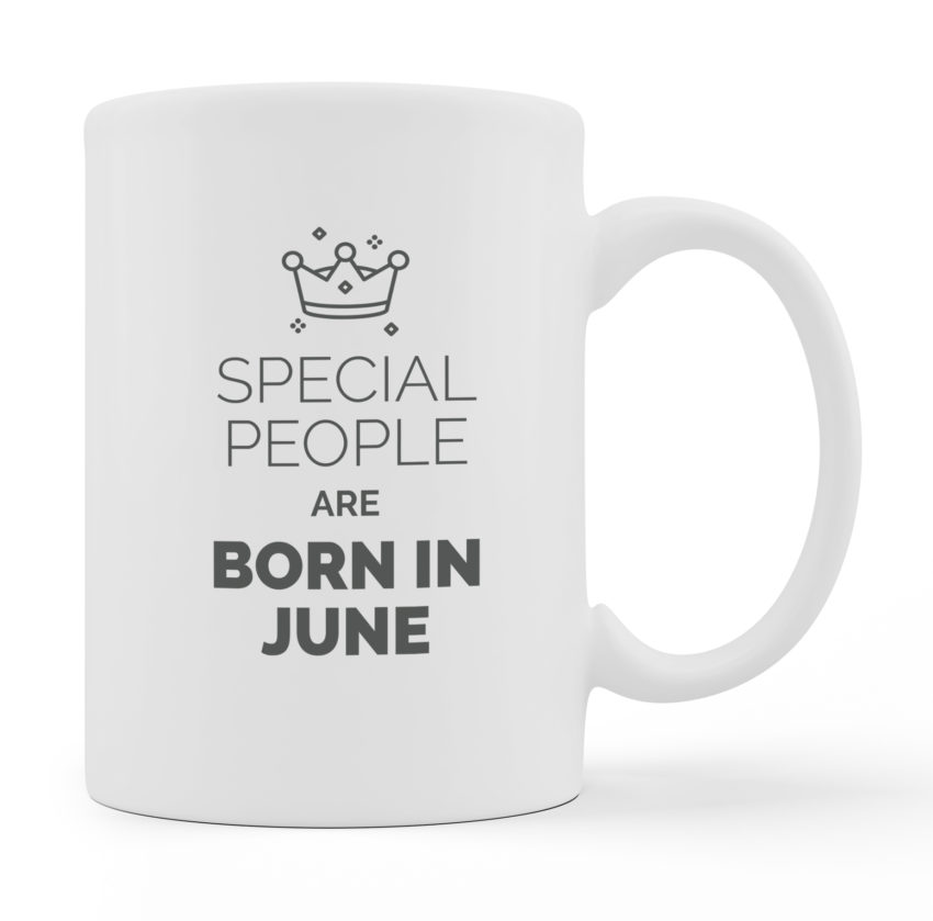 Coffee Mugs - Special People Are Born - White Color For Sale