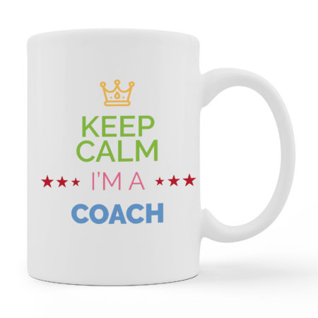 Coffee Mugs - I Am A Coach - White Color For Sale