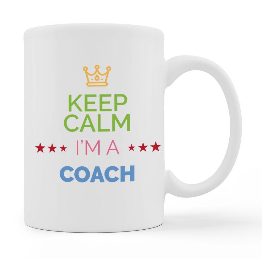 Coffee Mugs - I Am A Coach - White Color For Sale